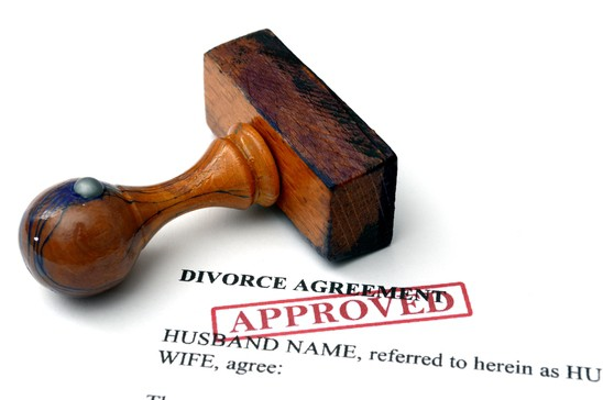divorce settled by agreement