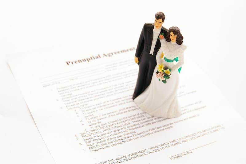 the good bad of prenuptial agreements